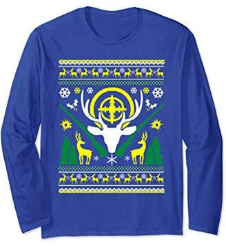 Deer Hunting Season Ugly Christmas Sweater Style Shirt