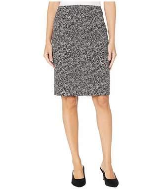 Nanette Lepore Herringbone Pencil Skirt