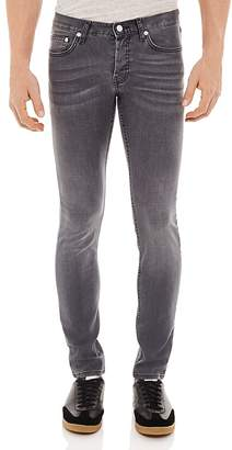 Sandro Pixies Washed Slim Fit Jeans in Grey $245 thestylecure.com