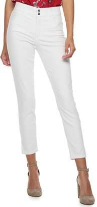 Candies Juniors' Candie's Vented Hem Skinny Jeans