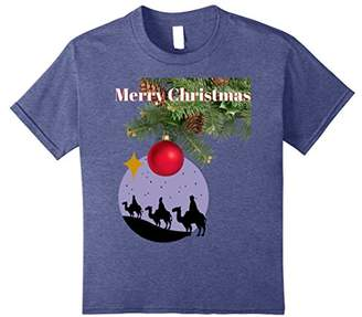 Merry Christmas - Wise Men Novelty T-Shirt for the Holidays