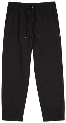 Kenzo Black Cropped Jersey Trousers