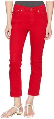 Lauren Ralph Lauren Petite Ultra Straight PFD Denim Straight w/ Cuff Women's Jeans
