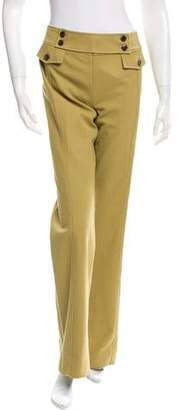 Valentino Wide-Leg Mid-Rise Pants w/ Tags