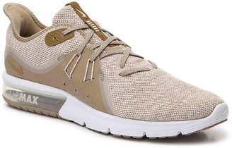 Nike Sequent 3 Performance Running Shoe -Beige - Men's