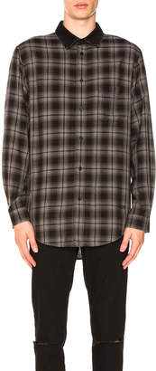 Alexander Wang Combo Collar Shirt
