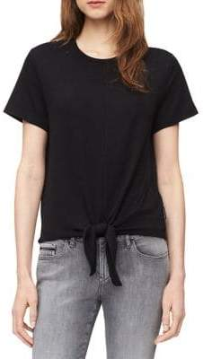 Calvin Klein Jeans Tie-Front Tee