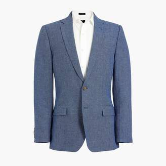 J.Crew Slim Thompson suit jacket in linen
