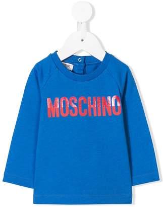 Moschino Kids printed logo sweatshirt