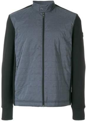 Michael Kors contrast-front bomber jacket