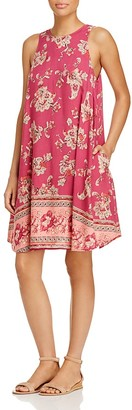 BeachLunchLounge Printed Trapeze Dress - 100% Exclusive $88 thestylecure.com