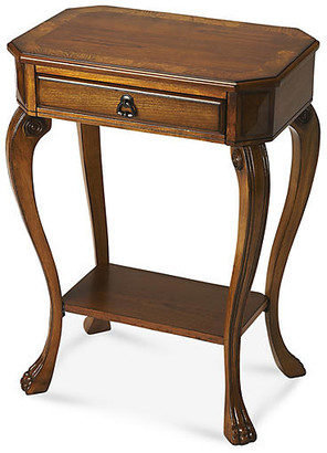 One Kings Lane Lily End Table - Cherry