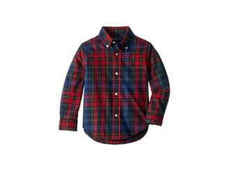 Polo Ralph Lauren Plaid Cotton Twill Shirt (Toddler)