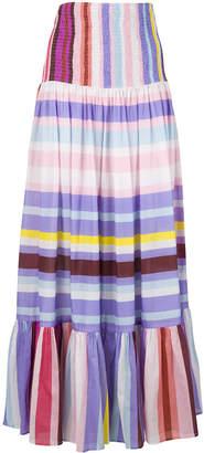 Michel Klein long striped skirt