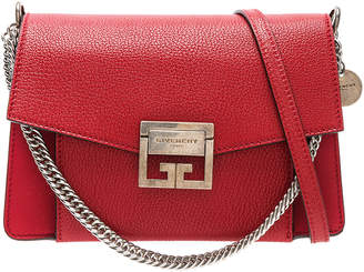 Givenchy Small Leather GV3 in Bright Red | FWRD