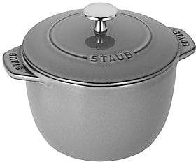 Staub 1.5-Quart Petite French Oven - Graphite Grey