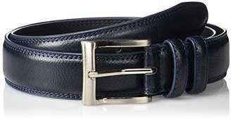 Florsheim Men's Pebble Grain Leather Belt mm