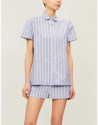 Three J NYC Striped cotton pyjamas