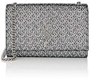 Saint Laurent Women's Monogram Kate Small Lamé Chain Bag