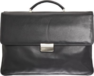 Barneys New York Two-Gusset Briefcase