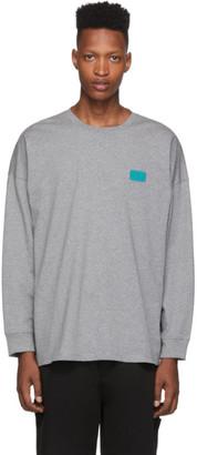Opening Ceremony Grey Unisex OC Long Sleeve T-Shirt