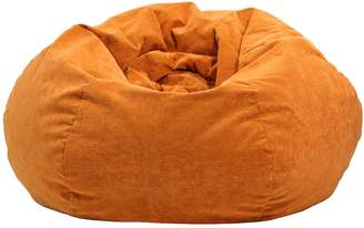 Gold Medal Extra Large Microfiber Faux-Suede Corduroy Bean Bag Chair