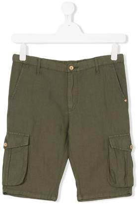 Nupkeet TEEN cargo pocket shorts