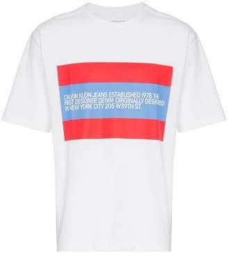 Calvin Klein Jeans Est. 1978 Logo Patch T-Shirt