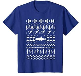Shark Ugly Christmas T-Shirt