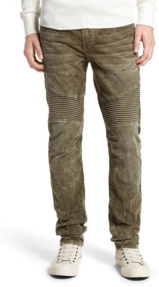 Slim Fit Corduroy Pants For Men - ShopStyle Australia