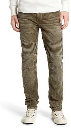 Men's True Religion Brand Jeans 'Rocco' Slim Fit Corduroy Moto Pants $249 thestylecure.com