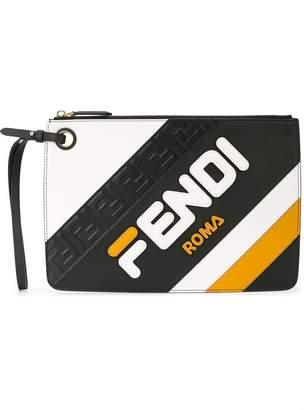 Fendi classic branded clutch