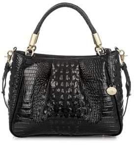 Brahmin Ruby Leather Shoulder Bag $325 thestylecure.com