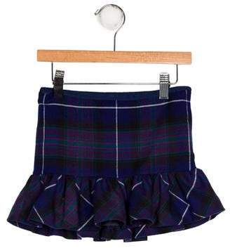 Ralph Lauren Girls' Plaid Mini Skirt