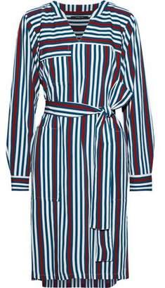 Derek Lam Striped Twill Dress