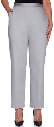 Alfred Dunner Charleston Classic Fit Woven Pull-On Pants