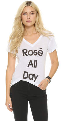 Wildfox Couture Rose All Day Easy Tee