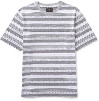 Beams Cotton-Jacquard T-Shirt