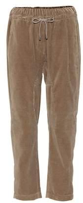 Brunello Cucinelli Cotton corduroy drawstring pants