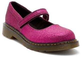 Dr. Martens Maccy Purple Glitter Mary Jane (Big Kid)