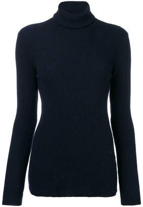 Roberto Collina ribbed turtle neck sweater