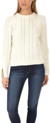 3.1 Phillip Lim Popcorn Cable Wool Sweater