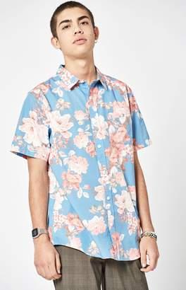 PacSun Bloome Short Sleeve Button Up Shirt