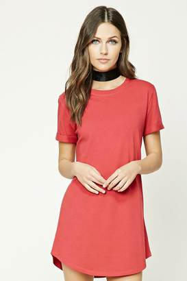 FOREVER 21+ Classic T-Shirt Dress $14.90 thestylecure.com