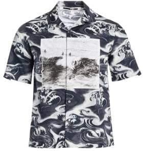 McQ Short Sleeve Printed Shirt