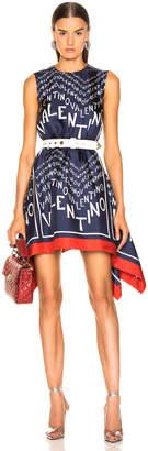 Valentino Chevron Dress