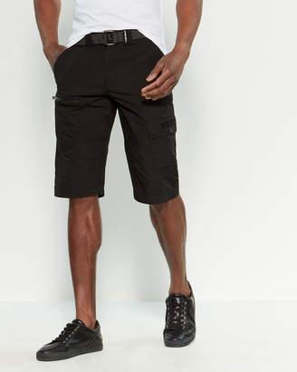 ProjekRaw Projek Raw Belted Rip Stop Cargo Shorts