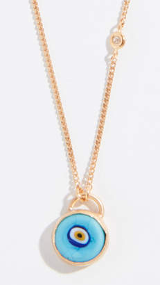 Chan Luu Evil Eye Necklace with Champagne Diamond
