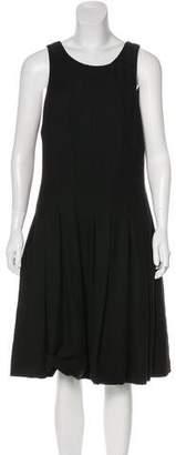 Chanel Tweed Pleated Dress