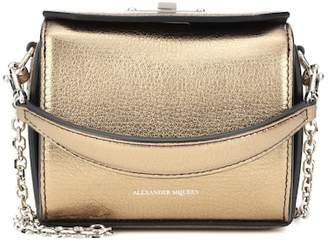 Alexander McQueen Nano Box leather shoulder bag